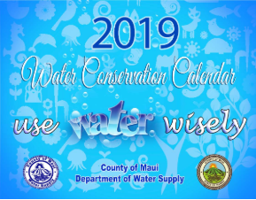 2019 Water Conservation Calendar Cover Opens in new window