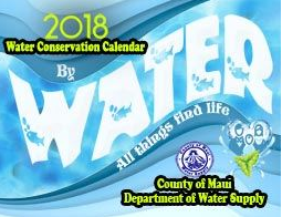 2018 Water Conservation Calendar (PDF) Opens in new window